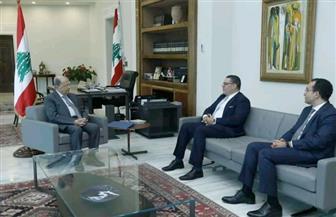 سفير مصر بلبنان يسلم الرئيس عون رسالة من الرئيس السيسي