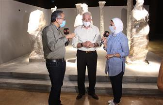 لافتات عن متحف شرم الشيخ الأثري بشوارع المدينة |صور