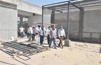 محافظ أسيوط يتفقد أعمال تطوير مجزر ديروط الرئيسي ويزور مركز الشرطة| صور