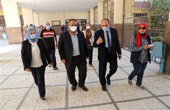 عزل صناديق إجابات الطلاب بجامعة عين شمس 48 ساعة قبل بدء أعمال التصحيح   صور