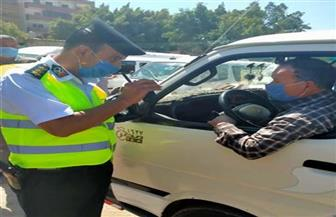 لعدم الالتزام بارتداء الكمامات.. «الداخلية» تتخذ الإجراءات القانونية ضد 2093 سائق نقل جماعي