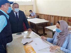 انتظام وهدوء سير امتحانات الفرق النهائية بجامعة حلوان وسط إجراءات احترازية مشددة | صور