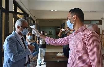 رئيس جامعة بورسعيد: طلاب 6 كليات أدوا امتحانات اليوم دون تسجيل شكاوى| صور