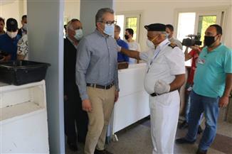 وزير السياحة والآثار يختتم زيارته لمدن جنوب سيناء بتفقد منفذ طابا البري | صور