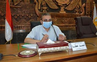 نائب محافظ الغربية يوجه بإزالة معوقات رصف الطرق المسندة للمقاولون العرب   صور