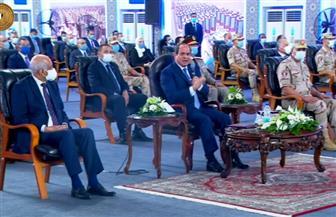 """بث مباشر لافتتاح الرئيس السيسي لعدد من المشروعات القومية منها """"الأسمرات ٣"""""""