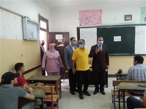 محافظ كفرالشيخ يتفقد عددا من لجان امتحانات الثانوية العامة | صور