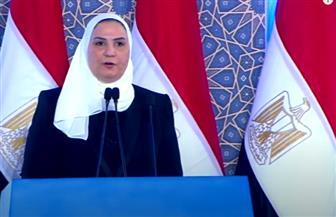 وزيرة التضامن: تطوير العشوائيات يتماشى مع خطة التنمية المستدامة