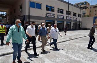 محافظ بورسعيد: الأسواق الحضارية تقضي على العشوائيات بالمحافظة | صور