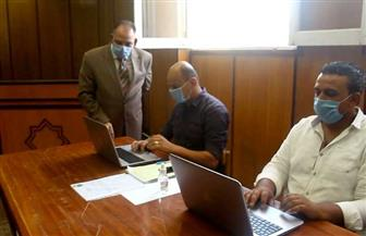 لجنة تلقي طلبات مجلس الشيوخ تواصل عملها لليوم الثاني في محكمة دمياط الابتدائية | صور