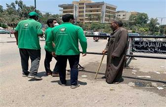 فريق أطفال وكبار بلا مأوى ينقذ رجلا مسنا بالشارع وينقله لإحدى مؤسسات الرعاية | صور
