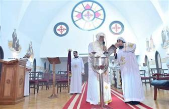 البابا تواضروس يصلي قداس عيد الرسل بدير الأنبا بيشوي   صور