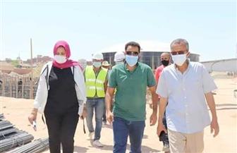 رئيس شركة مياه البحر الأحمر يتفقد أعمال إحلال وتجديد محطة الدهار| صور