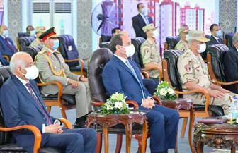 """الرئيس السيسي: """"اللي هيطلب شقة هياخدها"""".. ونحاول استفادة المواطن من مبادرات الحكومة"""