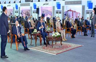 الرئيس السيسي: برنامج الإصلاح الاقتصادي كان السند في مواجهة أزمة كورونا