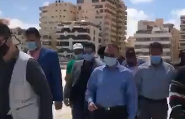 محافظ الإسكندرية يتفقد شاطئ النخيل ويتابع جهود البحث عن جثة الغريق الـ    فيديو