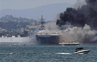 إصابة عدد من البحارة جراء انفجار على متن سفينة عسكرية في كاليفورنيا