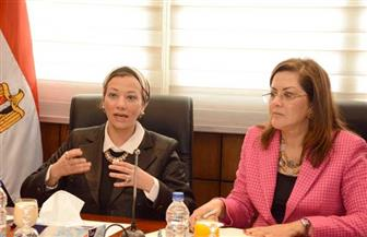 تفاصيل اجتماع وزيرتي التخطيط والتنمية الاقتصادية والبيئة بشأن مناقشة التحول للاقتصاد الأخضر