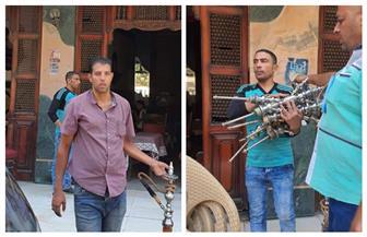 الجيزة: رفع 1225 حالة إشغال للمقاهي والمطاعم والمحال وغلق وتشميع المقاهي التي تقدم الشيشة | صور