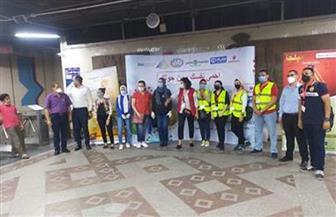 الشباب والرياضة والنقل تطلقان الحملة القومية للتوعية بفيروس كورونا بمحطات المترو والسكك الحديدية