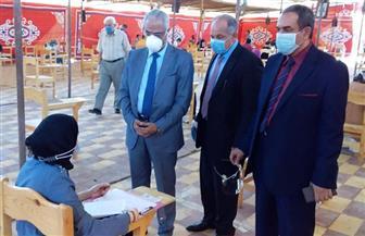غياب 17 طالبا وطالبة عن امتحانات الصفوف النهائية بـ 5 كليات في جامعة بورسعيد | صور