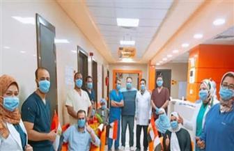 مستشفى إسنا للعزل بالأقصر تكسر حاجز 965 حالة تعاف وخروج 8 حالات جديدة | صور