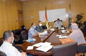 سكرتير محافظة الأقصر يناقش مشروع معالجة الأسباب الجذرية للهجرة غير النظامية بالمحافظة