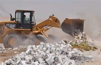 تنفيذ 35 حالة إزالة  تعد على الأراضي الزراعية ومنافع النيل بسوهاج