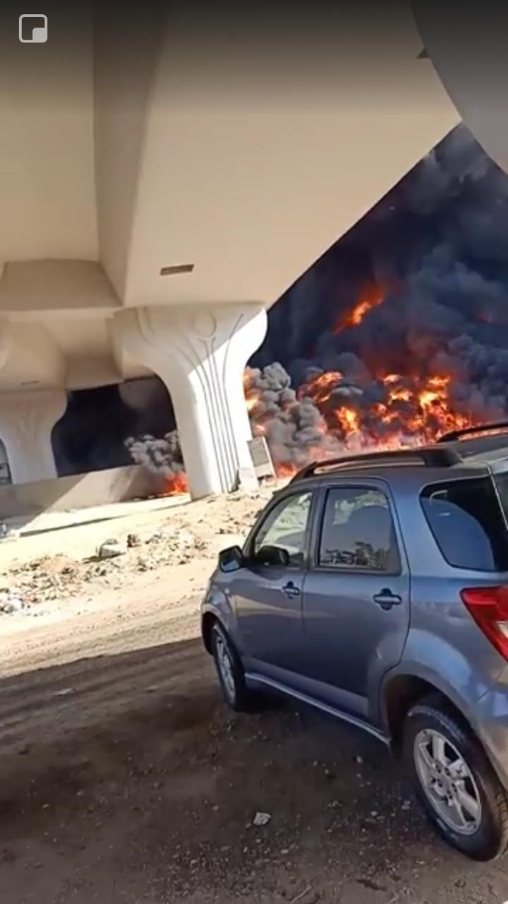 صور للحريق