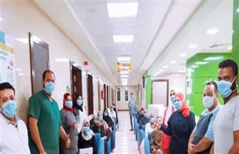 خروج 31 حالة من مستشفى العزل بإسنا جنوب الأقصر بعد تعافيهم من كورونا