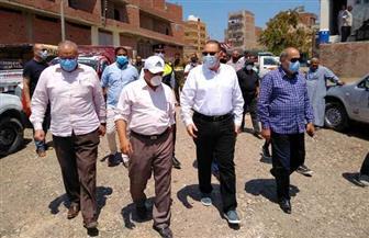محافظ الشرقية يتفقد مجمع مواقف سيارات أبو حماد ويأمر بسرعة الانتهاء من تركيب التندات | صور