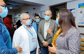 محافظ دمياط توجه بنقل العيادات الخارجية لمستشفى الرمد للحد من الزحام | صور