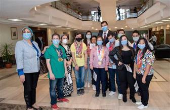 أبطال مبادرة مصر تستطيع يتبرعون لصندوق تحيا مصر دعما للأطقم الطبية