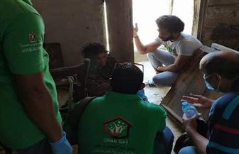التضامن: فريق أطفال وكبار بلامأوى ينقذ سيدة سبعينية تعيش وحدها وتعاني من الإهمال الصحي | صور