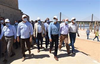 رئيس الوزراء يستعرض الموقف التنفيذي لأعمال التطوير بأسوان