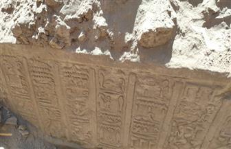 اللجنة الأثرية تنتهي من أعمال دراسة جدار الحجرية بقنا   صور
