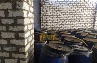 ضبط 4 أطنان زيتون بمصنع مخللات بدون ترخيص بالفيوم | صور