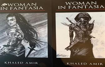 100 لوحة بالأبيض والأسود عن المرأة فى دار الأوبرا | فيديو وصور