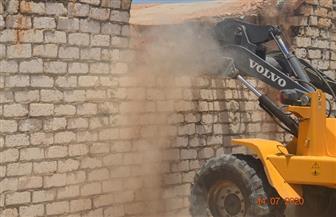 إزالة 79 حالة ضمن الموجة الـ 16 لحملات إزالة التعديات على أراضي الدولة في بني سويف | صور