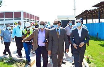 محافظ كفرالشيخ يفتتح مركز خدمة العملاء بمنطقة مياه الشرب والصرف الصحي |صور