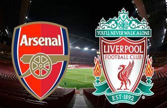 انطلاق مباراة أرسنال وليفربول في الدوري الإنجليزي