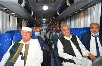 القاهرة تستقبل وفد القبائل الليبية لمناقشة تداعيات الأزمة الليبية |صور