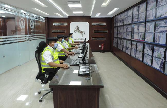 إفتتاح غرفة المراقبة المركزية بإدارة مرور الشرقية