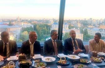 عمدة «كييف» يستقبل وزير السياحة بحفل عشاء مع كبار منظمي الرحلات السياحية بأوكرانيا | صور