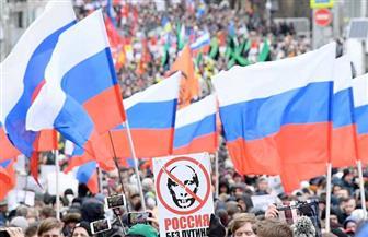 احتجاجات واعتقالات في موسكو ضد استفتاء بوتين