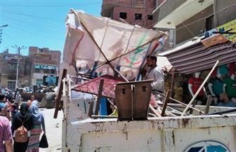 محافظة الفيوم: رفع 21 ألف طن قمامة وإزالة 1156 حالة إشغال خلال أسبوعين | صور