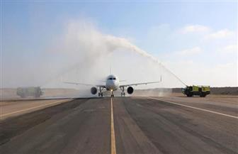 مطارا برج العرب وسوهاج الدوليين يستقبلان أولى رحلات شركة طيران العربية