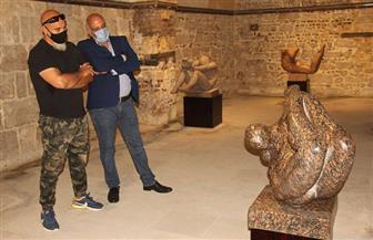 افتتاح معرض «اضطرابات» للنحات العراقي علي نوري في قصر الأمير طاز | صور