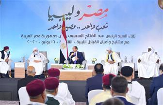 الرئيس السيسي: التطورات منذ إعلان القاهرة تشير إلى عدم رغبة أحد الأطراف في وقف إطلاق النار