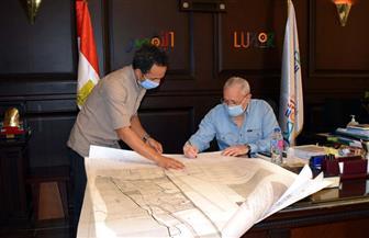 محافظ الأقصر يعتمد خرائط المخطط الإستراتيجي العام لمدينتي إسنا والطود   صور